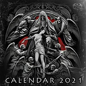 "Spiral Direct Dark Arts 2021 - Calendar 16"" x 16"""